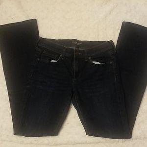 Like New! Banana Republic Slim Bootcut Jeans